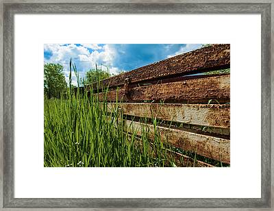 Parallel Memories Framed Print by Rhys Arithson