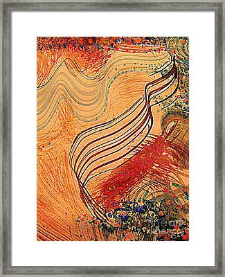 Parallel Parade 2 Framed Print by Nancy Kane Chapman