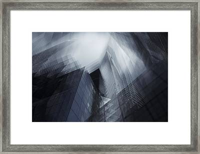 Parallel Framed Print by Sebastien Del Grosso