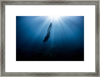 Parallel World Framed Print