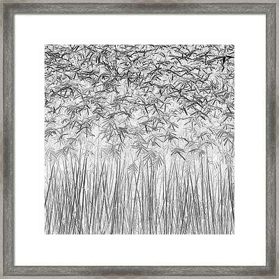 Parallelism Framed Print by Jefflin Ling