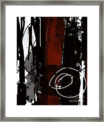 Parallels - Modern Abstract Digital Art Framed Print by Patricia Awapara