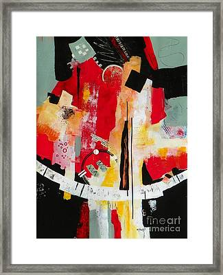 Parallels Framed Print by Donna Frost