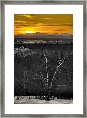 Parameter Hill Framed Print