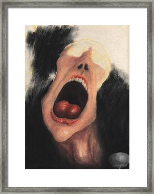 Paranoia Framed Print by KJA Stone