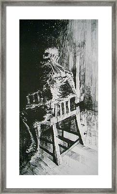 Paranoiac Framed Print by Nathan Bishop