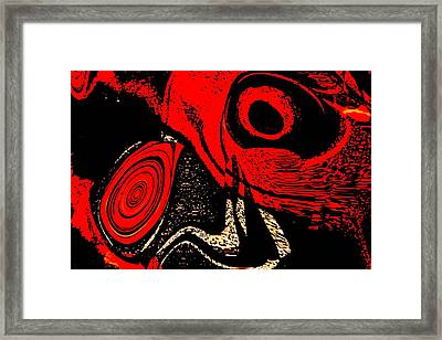 Paranoid Framed Print by Max Steinwald
