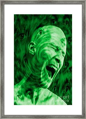 Paranoid Personality Disorder Framed Print by George Mattei