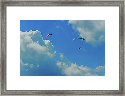 Paraplanes Framed Print
