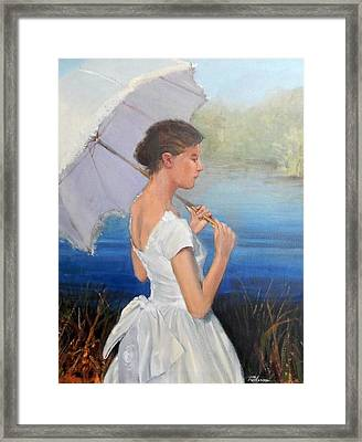 Parasol Framed Print by Ron Wilson