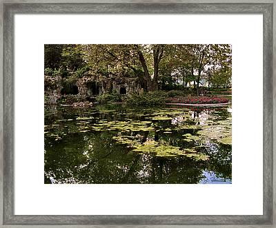Parc Du Champ De Mars Framed Print by Joe Bonita