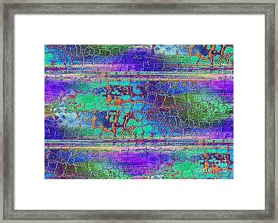 Parched - Abstract Art Framed Print