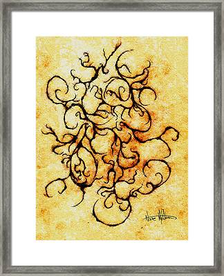 Parchment Framed Print by Nathaniel Hoffman