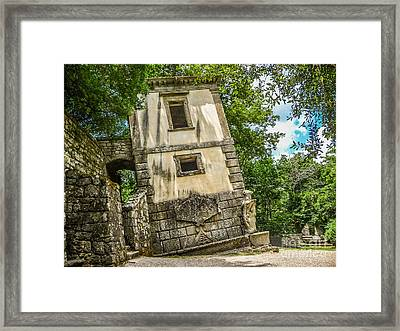 Parco Dei Mostri, Park Of The Monster, In Bomarzo Framed Print by JR Photography
