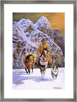 Pardners Framed Print