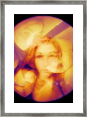 Pardon Me While I Burst... Framed Print by Mandy Shupp