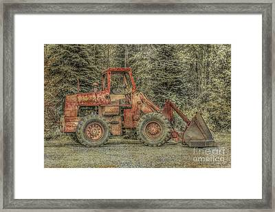 Pardon The Appearance Will Work For Fuel Framed Print by Randy Steele