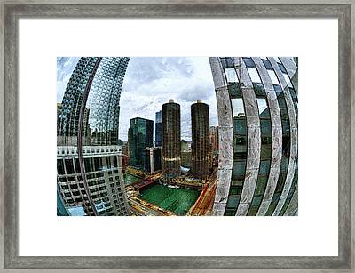 Parenthesis Framed Print