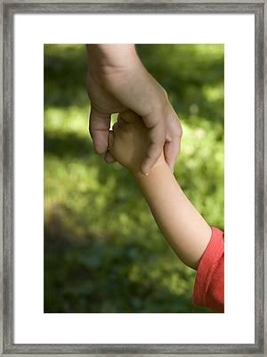 Parenthood Framed Print
