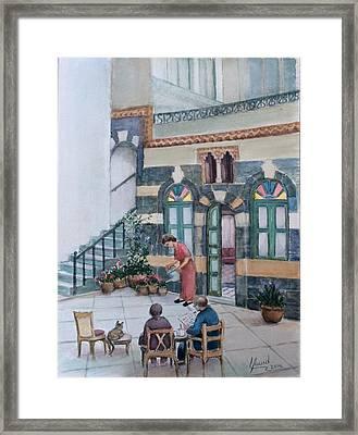 Parent's Home Framed Print