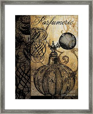 Parfumerie II Framed Print by Mindy Sommers