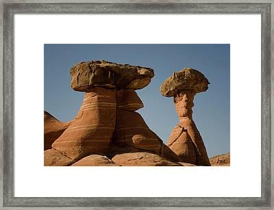Paria Utah Xiii Color Framed Print by David Gordon