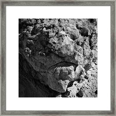 Paria Xiv Bw Sq Framed Print by David Gordon
