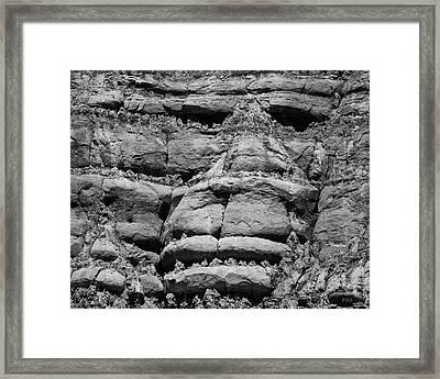 Paria Xvi Bw Framed Print by David Gordon