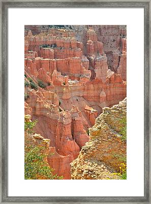 Pariah Point Overlook Framed Print