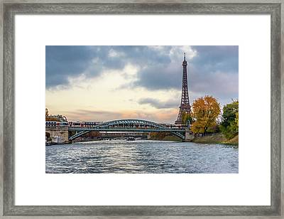 Paris 3 Framed Print