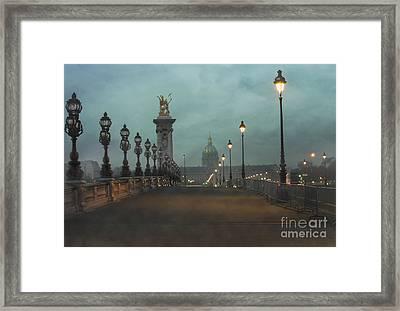 Paris Framed Print by Juli Scalzi