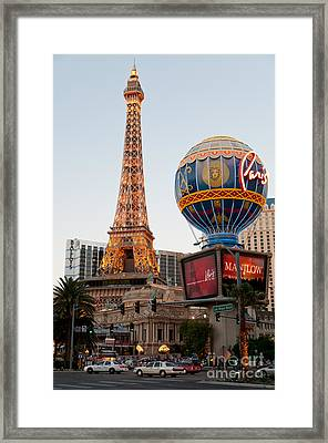 Paris At Dusk Framed Print by Andy Smy