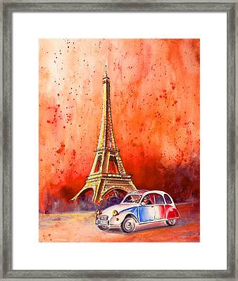Paris Authentic Framed Print