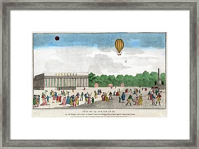 Paris: Bastille Day, C1801 Framed Print by Granger