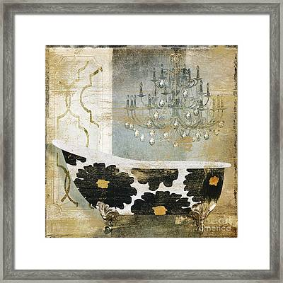 Paris Bath Framed Print by Mindy Sommers