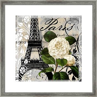 Paris Blanc I Framed Print