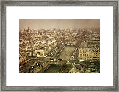 Paris Cityscape Framed Print