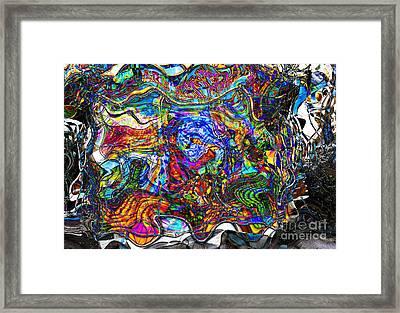 Paris Colors Tote Bag Framed Print by John Rizzuto