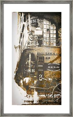 Paris Corner Framed Print by Mindy Sommers