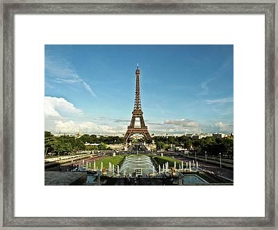 Paris Framed Print by Dian Qi