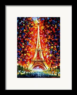 Eifel-tower Framed Prints