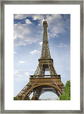 Paris Eiffel Tower Framed Print by Melanie Viola