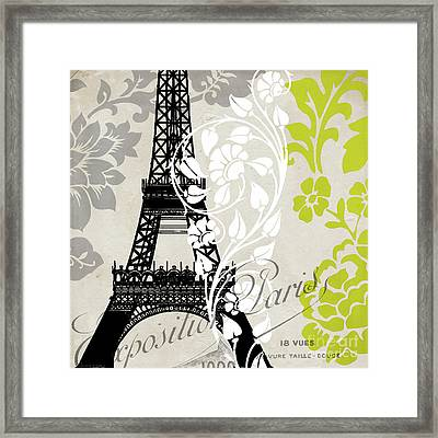Paris Exposition Framed Print by Mindy Sommers