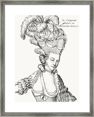 Paris Fashion, 1776 Framed Print
