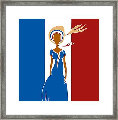Paris Fashion Framed Print