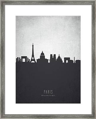 Paris France Cityscape 19 Framed Print by Aged Pixel