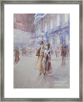 Paris Framed Print by MotionAge Designs