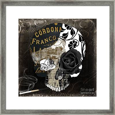 Paris Halloween II Framed Print by Mindy Sommers