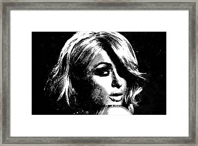 Paris Hilton S1 Framed Print by Brian Reaves