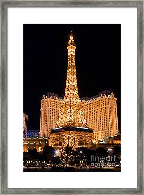 Paris Hotel Framed Print by Andy Smy